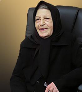 حاجیه خانم راضیه فرزاد موسس خیریه راضیه فرزاد و انجمن بیماران خاص و سرطانی استان گلستان